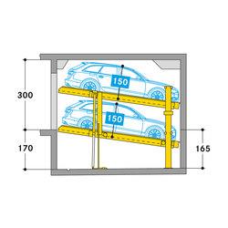 Parklift 405 | Mechanic parking systems | Wöhr