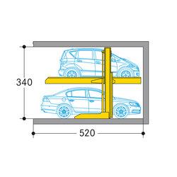 Parklift 411 | Mechanic parking systems | Wöhr