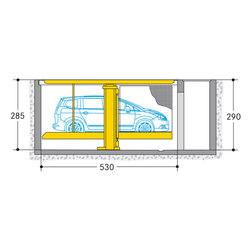 Parklift 461 | Mechanic parking systems | Wöhr