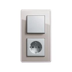 Esprit Glass C | Switch range | interuttori pulsante | Gira