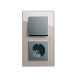 Esprit Glass C | Switch range | interuttori pulsante | Gira