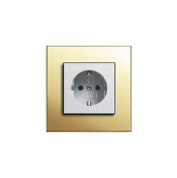 Esprit Brass | Socket outlet | Schuko sockets | Gira
