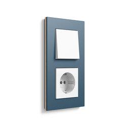 Esprit linoleum-plywood | Switch range | interuttori pulsante | Gira