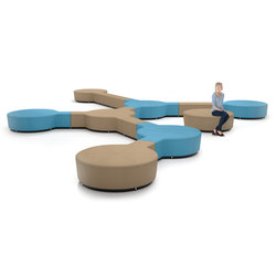 Ebb Bench | Waiting area benches | Leland International