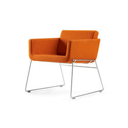 Palomino Guest Chair | Lounge chairs | Leland International
