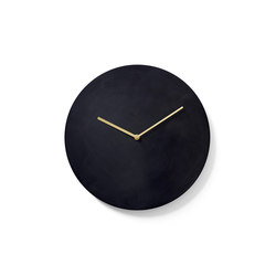Norm Wall Clock, Bronzed Brass | Horloges | MENU