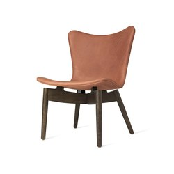 Shell Lounge Chair - Dunes Rust - Sirka Grey Oak | Armchairs | Mater
