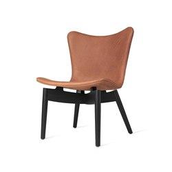 Shell Lounge Chair - Dunes Rust - Black Oak | Armchairs | Mater