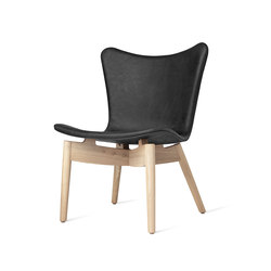 Shell Lounge Chair | Dunes Anthrazit Black | Loungesessel | Mater