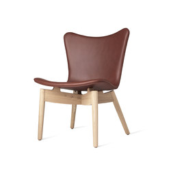 Shell Lounge Chair | Tango Cognac | Lounge chairs | Mater