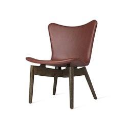 Shell Lounge Chair - Ultra Cognac - Sirka Grey Oak | Armchairs | Mater
