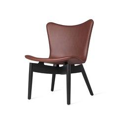 Shell Lounge Chair - Ultra Cognac - Black Oak | Armchairs | Mater