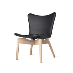 Shell Lounge Chair | Tango Black | Lounge chairs | Mater