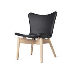 Shell Lounge Chair - Ultra Black - Mat Lacquered Oak | Sessel | Mater