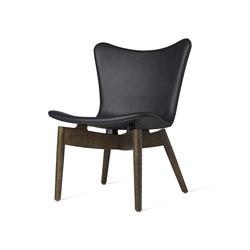 Shell Lounge Chair - Ultra Black - Sirka Grey Oak | Armchairs | Mater