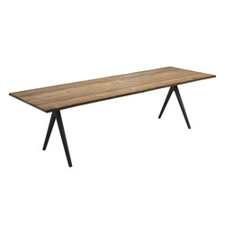 Split Raw Dining Table | Dining tables | Gloster Furniture GmbH