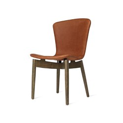 Shell Dining Chair - Dunes Rust - Sirka Grey Oak | Chairs | Mater