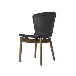 Shell Dining Chair - Dunes Anthrazit - Sirka Grey Oak | Chairs | Mater