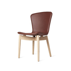 Shell Dining Chair | Tango Cognac | Restaurant chairs | Mater