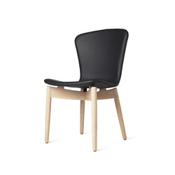 Shell Dining Chair | Tango Black | Sillas para restaurantes | Mater