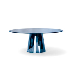 Pli Table Sapphire Blue | Dining tables | ClassiCon