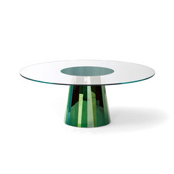 Pli Table Topas Green | Dining tables | ClassiCon