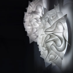 Veli Couture ceiling/wall | Iluminación general | Slamp