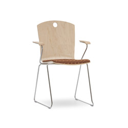 Marquette Arm Chair | Sillas multiusos | Leland International