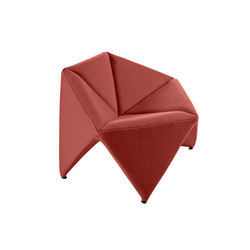 Fold Lounge Chair | Poltrone lounge | Softline A/S