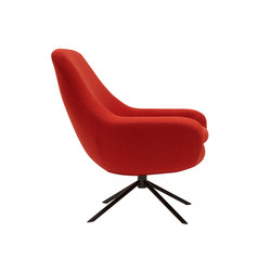 Noomi Swivel Chair | Lounge chairs | Softline A/S