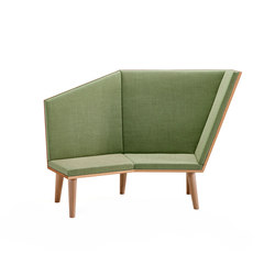 Cody Lounge Sofa | Bancs d'attente | Cube Design