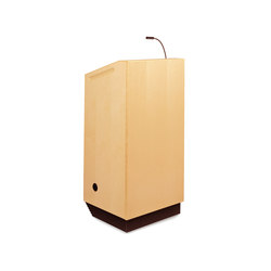 Egan Lecterns - Wood Veneer Egan Lectern | Lecterns | Egan Visual