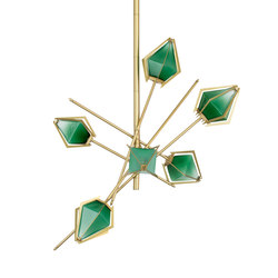 HARLOW Small Chandelier | Suspended lights | Gabriel Scott