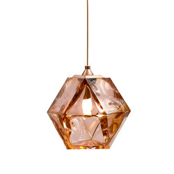 WELLES DOUBLE-BLOWN GLASS Pendant | General lighting | Gabriel Scott