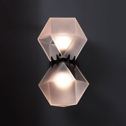 WELLES GLASS Wall-Sconce | Wall lights | Gabriel Scott