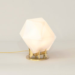 WELLES DOUBLE-BLOWN GLASS Desk Lamp | Table lights | Gabriel Scott
