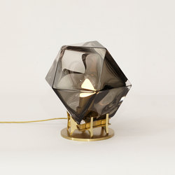 WELLES DOUBLE-BLOWN GLASS Desk Lamp | Iluminación general | Gabriel Scott