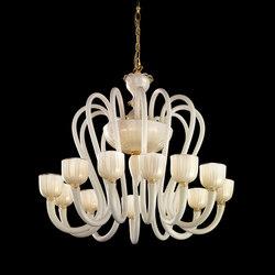 Krokus | L12 | Ceiling suspended chandeliers | LEUCOS USA