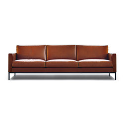 Florence Knoll Lounge 3 seat sofa | Lounge sofas | Knoll International