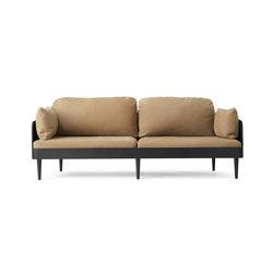 Septembre Sofa | Black Ash/Lava | Canapés | MENU