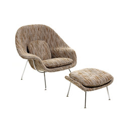 Saarinen Womb Stuhl & Ottoman | Sessel | Knoll International