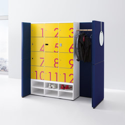 R-modul | Lockers | werner works