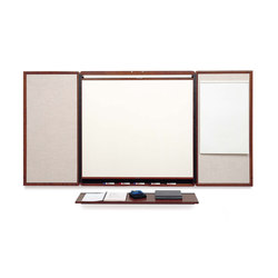 Presentation Cabinets - Wood Presentation Cabinet | Flip charts / Writing boards | Egan Visual