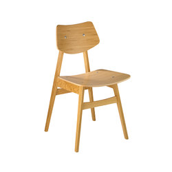 1960 Chair Oak | Visitors chairs / Side chairs | Rex Kralj