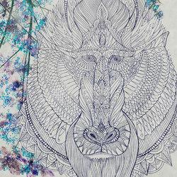 Baboon | Peintures murales / art | TECNOGRAFICA