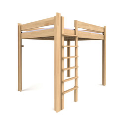Youth Loft Bed DBB-100B-140 | Kids beds | De Breuyn
