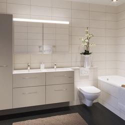 vitessa mit WC-Front geplättelt | Wandschränke | talsee
