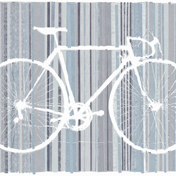 Bicycle Trace | Wall art / Murals | TECNOGRAFICA
