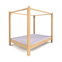 Canopy Bed DBB-100C-140 | Four poster beds | De Breuyn