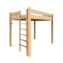 Youth Loft Bed  DBB-100DS-140 | Four poster beds | De Breuyn